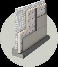 Tvirta mūrinė statyba